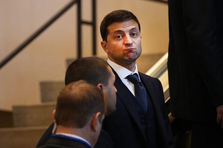 Presiden Ukraina Volodymyr Zelensky.