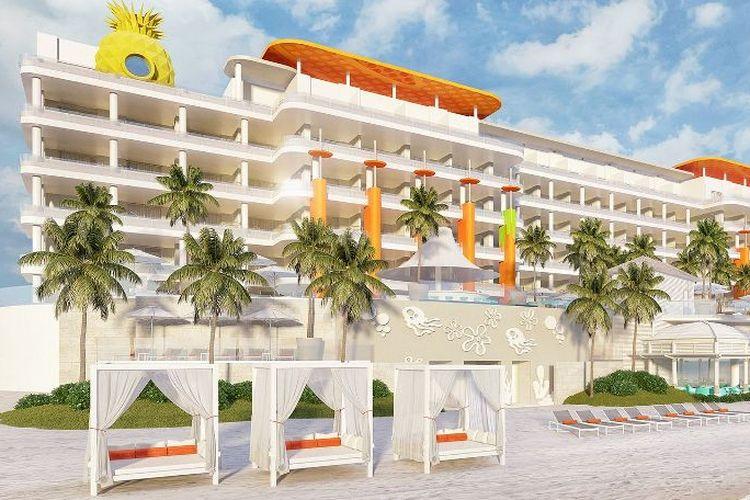 Nickelodeon Hotels & Resorts Riviera Maya telah resmi dibuka pada Senin (2/8/2021) di Meksiko