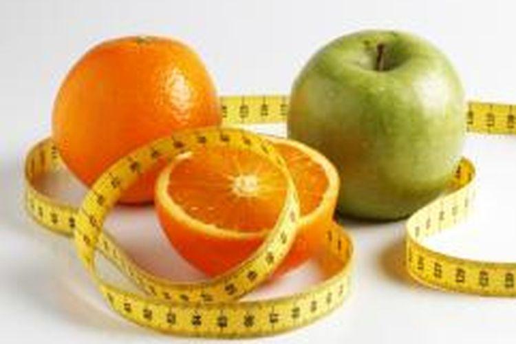 Ilustrasi pembatasan kalori.