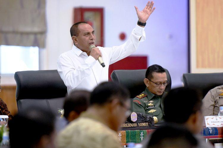 Gubernur Sumatera Utara Edy Rahmayadi