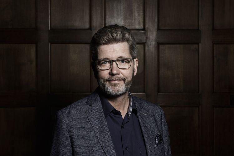 Wali Kota Kopenhagen, Denmark, Frank Jensen, ketika berpose di Balai Kota pada 24 Januari 2020. Dia mengumumkan mundur setelah mengaku melecehkan banyak perempuan dalam 30 tahun terakhir.