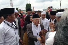 Ma'ruf Amin Kunjungi Tapanuli Utara dan Tobasa