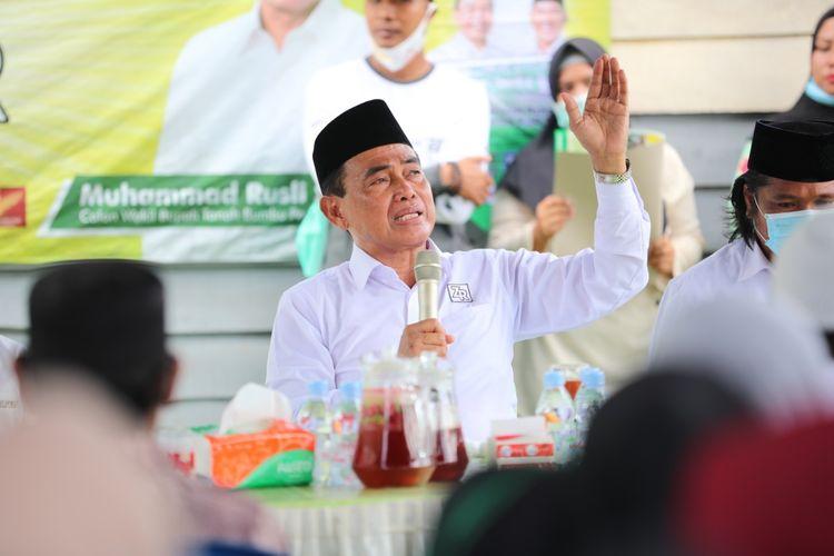 Calon Bupati Tanah Bumbu, Kalimantan Selatan Zairullah Azhar dalam salah satu kesempatan.