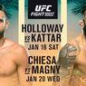 UFC Awali 2021 dengan Dua Ajang Fight Night Penuh Aksi