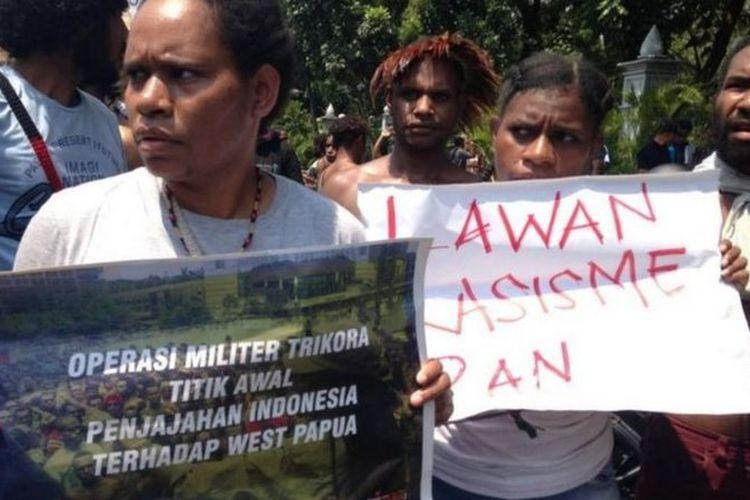 Catatan Komisi Nasional Hak Asasi Manusia, pengaduan kasus-kasus kekerasan yang dilakukan aparat di Papua terus menggunung dalam rentang antara tahun 2015 - 2019. Sepanjang 2019 jumlahnya mencapai 154 aduan.
