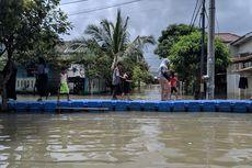 Warga Sebut Banjir Sebagai Kado HUT ke-27 Kota Tangerang
