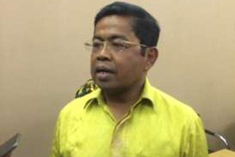 Sekretaris Jenderal Partai Golkar Idrus Marham di Kantor DPD Golkar DKI Jakarta, Cikini, Menteng, Jakarta Pusat, Selasa (6/12/2016) sore.