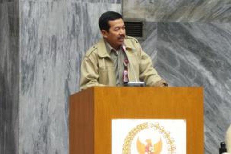 Kepala Lembaga Sandi Negara (Lemsaneg) Mayjen TNI Djoko Setiadi