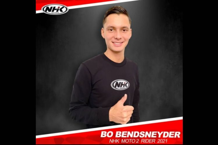 Bo Bendsneyder akan menggunakan helm NHK di Moto2 2021.