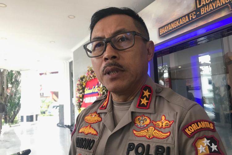 Kepala Korps Lalu Lintas (Korlantas) Polri Irjen Istiono di PTIK, Jakarta Selatan, Senin (24/2/2020).