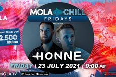 Honne dan Vira Talisa Hadir di Mola Chill Fridays Malam Ini