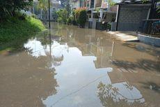 Banjir di Ciputat Belum Surut, Tinggi Genangan Masih 50 Cm