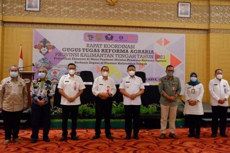 Food Estate jadi salah satu fokus utama GTRA di Kalimantan Tengah