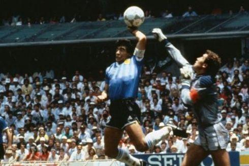 Sahkan Gol Tangan Tuhan Maradona, Eks Wasit asal Tunisia Tak Menyesal