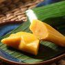 Resep Sumping Waluh Gula Merah, Nagasari Labu Kuning Khas Bali