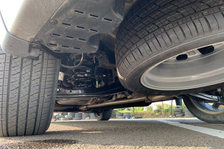 Roda belakang Hyundai Palisade didukung suspensi independen di tiap roda.