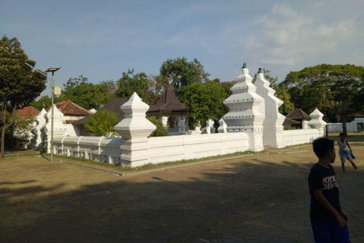 Keraton Kanoman, Cirebon, Jawa Barat.