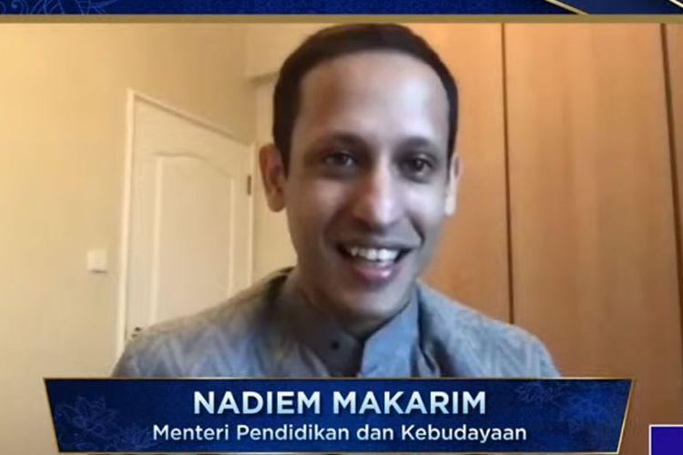 Mendikbud Nadiem Makarim.