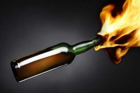 SMKN 3 Jetis Yogyakarta Dilempar Molotov, Satu Satpam dan Polisi Luka Bakar