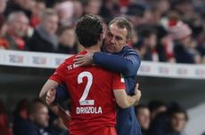 Bayern Muenchen Vs Leipzig, Hansi Flick Waspadai Lini Serang Die Roten Bullen