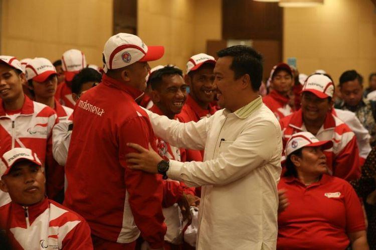 enteri Pemuda dan Olahraga Imam Nahrawi yakin jika kontingen National Paralympic Committee (NPC) Indonesia mampu menjadi juara umum kambali pada ASEAN Para Games (APG) 2017 di Malaysia, 17-23 September