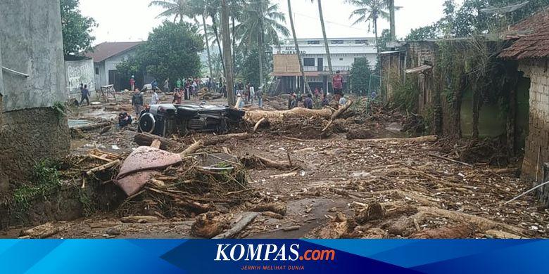 Kesaksian Warga Saat Banjir Bandang Sukabumi, Diawali Suara Benturan Keras