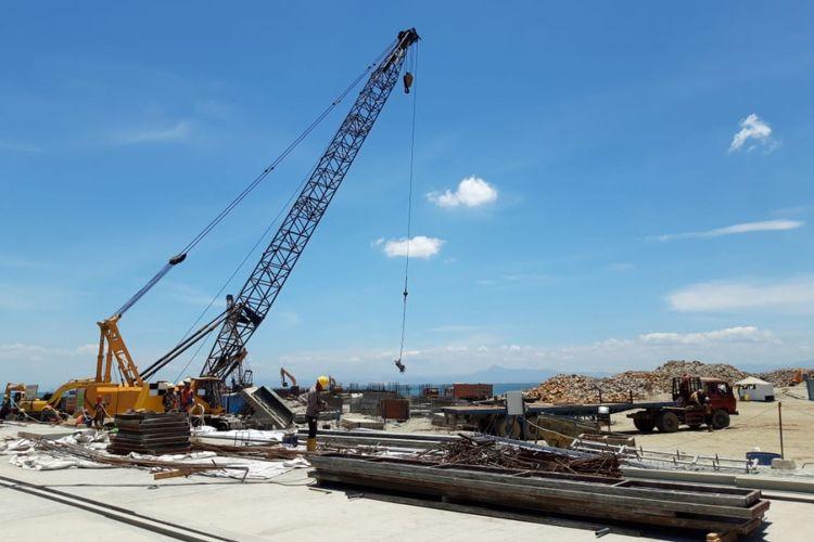 Proyek pembangunan New Makassar Port.