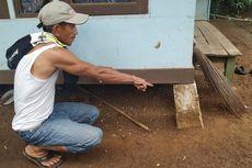 Bencana Tanah Bergerak Landa Purabaya Sukabumi, Bangunan Retak-retak, Fondasi Geser, hingga Rumah Panggung Miring