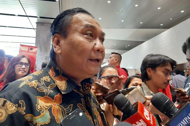 Bambang Wuryanto di DPR, Senayan, Jakarta, Senin (10/2/2020).