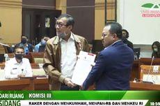 Pemerintah Serahkan DIM RUU tentang Mahkamah Konstitusi ke Komisi III DPR