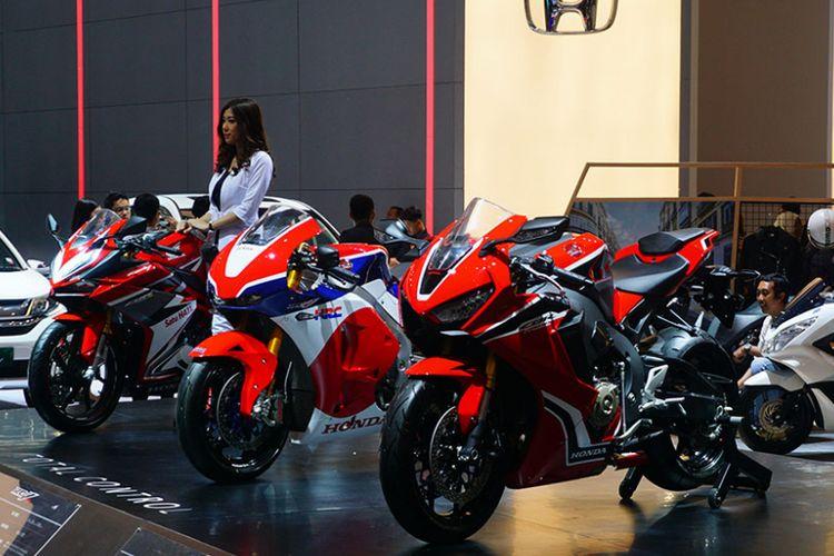 Honda hadir dengan line up lengkap motor balapnya