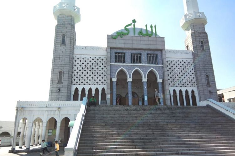 Seoul Central Mosque di Itaewon, Seoul.