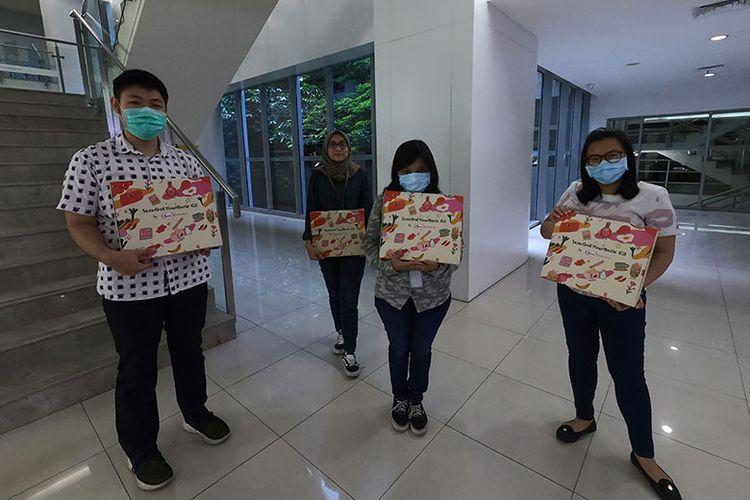 SasaGotYourBack Kit dari Sasa diberikan kepada para karyawan untuk memberikan semangat dalam bekerja di tengah pandemi covid-19.