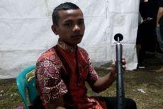 Remaja Samosir Memainkan Sarune di Tobatak Festival 2017