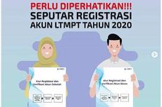 Khusus Lulusan 2018/2019, Ini Info Terbaru Terkait Daftar Akun LTMPT
