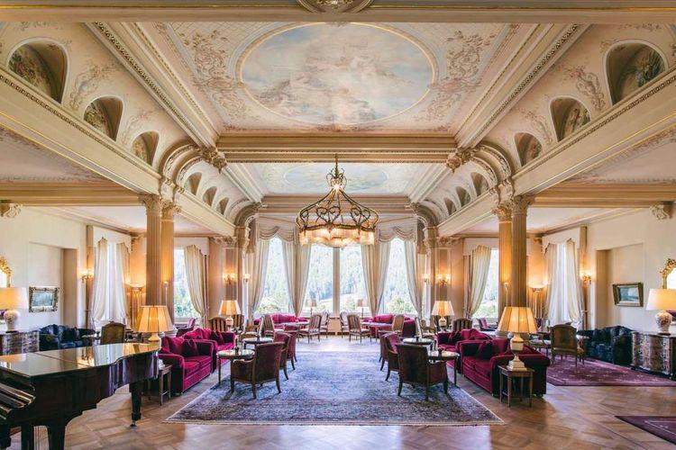 Grand Hotel Kronenhof, Pontresina, Swiss