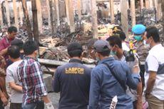 Tim Puslabfor Selidiki Kebakaran Pasar Pon Trenggalek