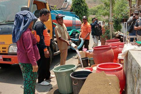 Selain Kebakaran Hutan, Kediri Juga Dilanda Kekurangan Air Bersih