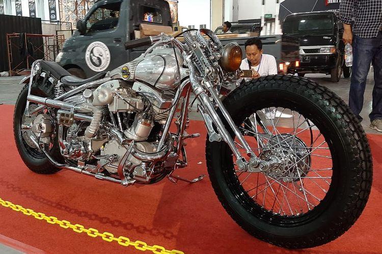 Motor terbaik Kustomfest 2019 digarap oleh Kedux Garage