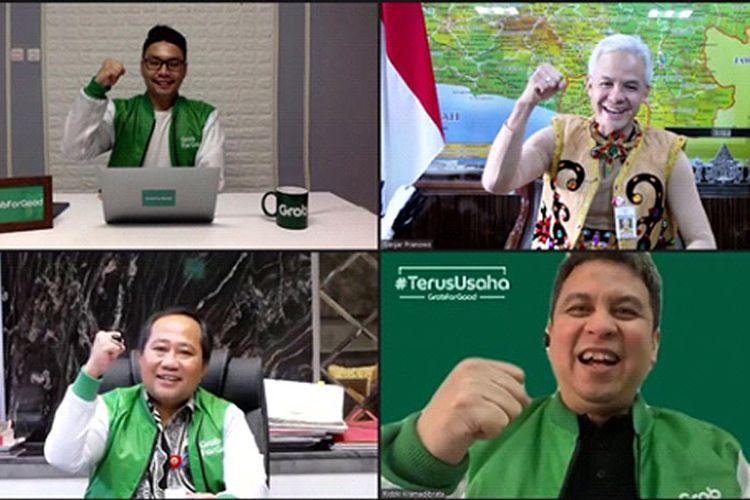 Peluncuran program #TerusUsaha di Jawa Tengah.