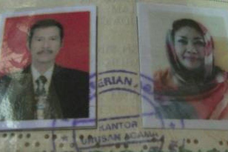Surat nikah milik Titin dan Redi, Kamis (21/5/2015).