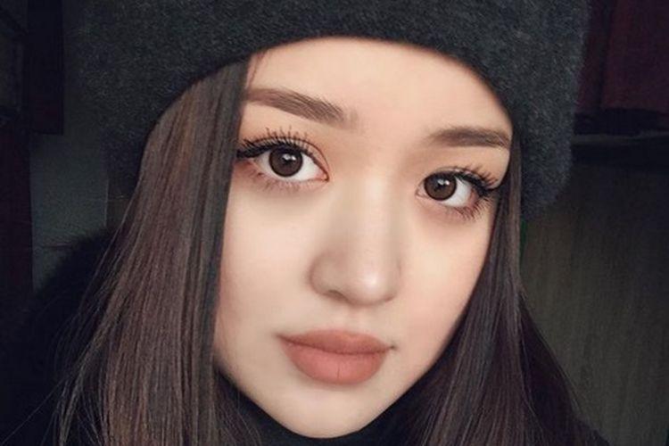Dayana, wanita asal Kazakhstan.