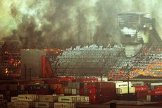 Kebakaran Pelabuhan Brasil, 180.000 Ton Gula Hangus