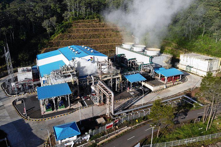 Wilayah kerja pengeboran panas bumi PT Pertamina Geothermal Energy (PGE).