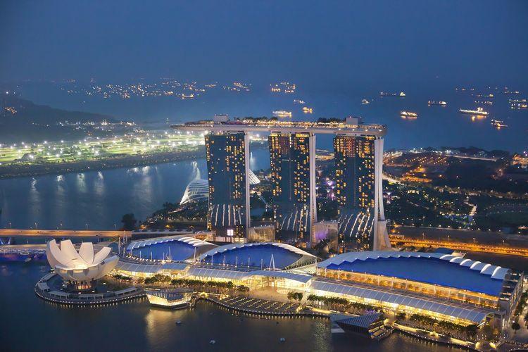 Marina Bay Sands di Singapura