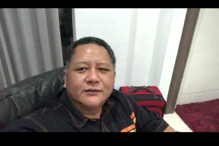 Wakil Wali Kota Surabaya, Wisnu Sakti Buana menyapa warga Surabaya lewat rekaman video, Kamis (4/6/2020).