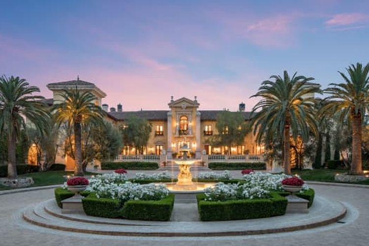 Villa Firenze seluas 9 hektare di Beverly Hills, California / cnbc.com