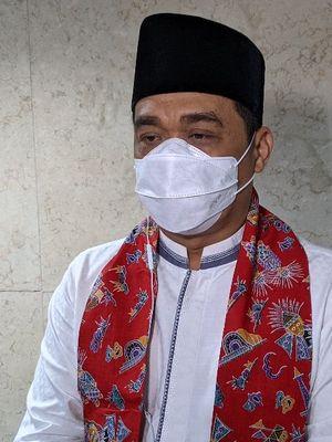 Wakil Gubernur DKI Jakarta Ahmad Riza Patria saat ditemui di Balaikota DKI Jakarta Jalan Medan Merdeka Selatan, Gambir, Jakarta Pusat, Jumat (8/1/2021).