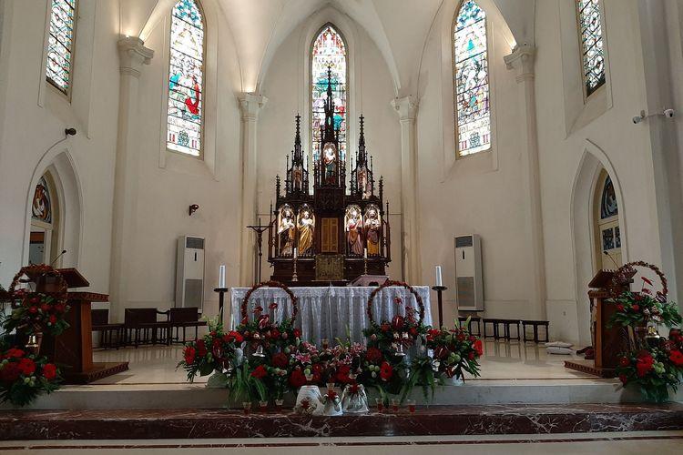 Tabernakel di Gereja Gedangan
