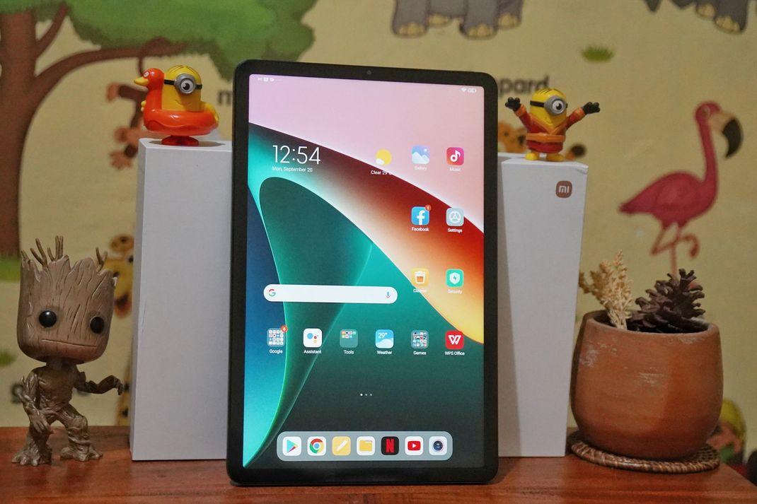 Tampilan layar Xiaomi Pad 5